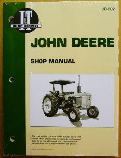 John Deere Service Manual 2040 2640 4040 4240 4440 4640 4840 Tractors