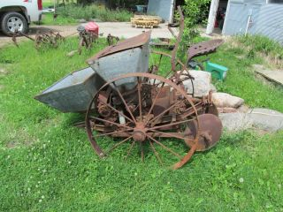 John Deere Hoover Potato Planter Lawn Ornament or Parts