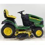 JOHN DEERE 155C LAWN TRACTOR MOWER and ATTACHMENTS Excellent Condition
