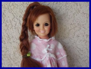 Vintage Ideal Crissy Grow Hair 1969 Doll