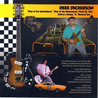 George Barris Tribute CD Hallmark Guitars Presents The Kustom Kings