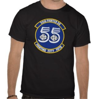 USAF 55th Fighter Squadron Shirts