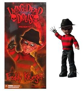 Living Dead Dolls Freddy Krueger Classic Nightmare