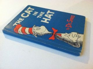 1957 DR SEUSS THE CAT IN THE HAT TRUE 1ST FIRST EDITION VERY SCARCE