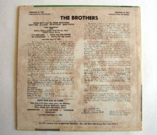 Jazz Album Stan Getz Zoot Sims The Brothers Prestige Mono LP 7022 Rare Record