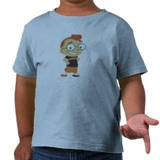 Little Einsteins' Leo Disney Tee Shirt from Zazzle
