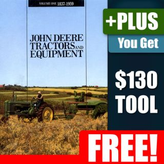 John Deere Tractor Equipment Part Mower Farm 1837 1959