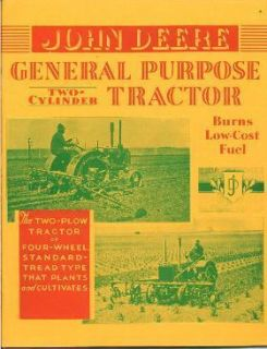 1931 John Deere Tractor Catalog 2 Cyl General Purpose