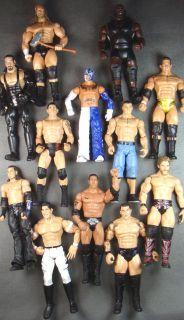 12x WWE Bulk Lots THE ROCK JOHN CENA UT HHH RKO 619 Wrestlers Action Figure Toy