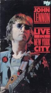 VHS John Lennon Live in New York City