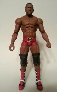 Custom WWE Mattel Elite David Otunga Nexus Harvard