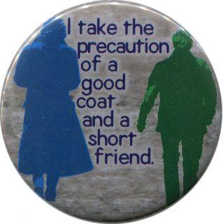 """Good Coat"" 2 25"" Pinback Button BBC Sherlock John Watson Holmes Martin Freeman"