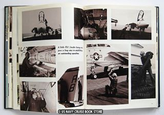 USS John F Kennedy CV 67 Mediterranean Cruise Book 1977