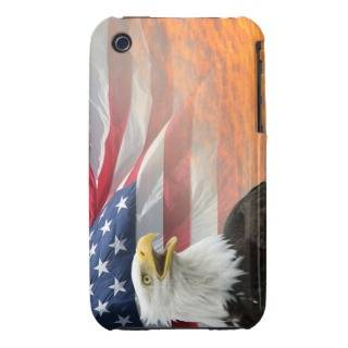 American Flag, Eagle & Sunrise Case Mate iPhone 3 Cases from Zazzle
