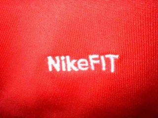 Manchester United Man UTD Nike Red Home Football Soccer Shirt Jersey Uniform M
