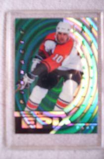 1997 98 Emerald Pinnacle Epix E 23 Play John LeClair New York Rangers