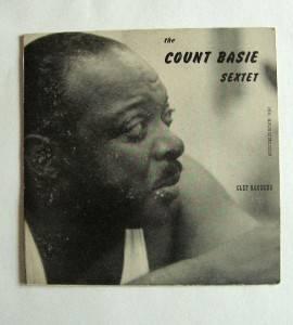 10 Vinyl Jazz Album The Count Basie Sextet Clef Records LP Buddy Rich Granz VTG
