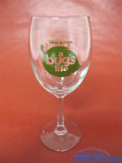 Disney Pixar Studios Bugs Life Premiere John Lasseter Winery Vineyard Wine Glass