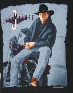 Retro John Michael Montgomery Shirt Men's XXL 2XL Country Music Concert Tour Tee