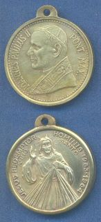 Religion Pope John Paul II Holy Year 1984 Papal Medal