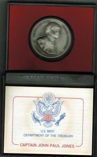 John Paul Jones Americas First Medal Pewter