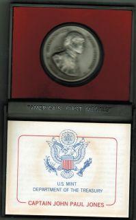 John Paul Jones Americas First Medal Pewter