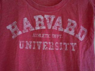 Women's L O L Vintage Harvard Athletic Dept T Shirt Tee