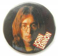 Old Pin Badge Music Legend John Lennon X