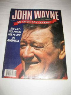 John Wayne An American Legend 1901 1979 1979 His Life Films Place in America