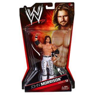 WWE Series 12 Action Figure John Morrison by Mattel