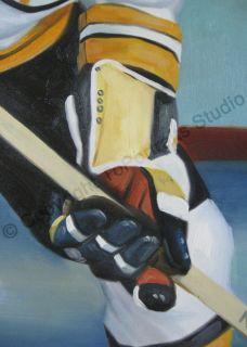 Bobby Orr Boston Bruins NHL Poster Canvas Oil Painting
