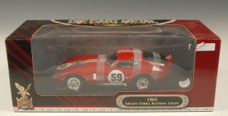 Road Signature 1 18 1965 Shelby Cobra Daytona Coupe Model |