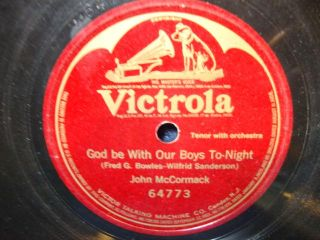God Be with Our Boys to Night 1918 78rpm