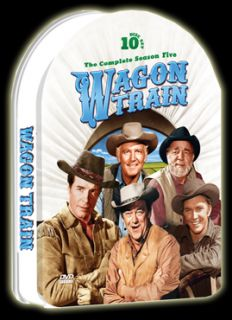 Wagon Train Season Five 10 DVD set 37 episodes 1961 62