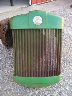 John Deere R Diesel Tractor NICE original JD front nose cone grill
