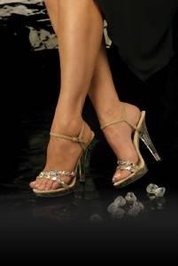 Johnathan Kayne Austria AB Swarovski Rhinestone Shoes