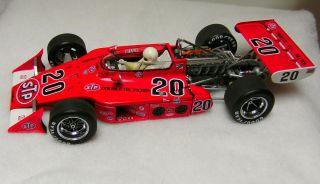 Carousel 1973 Indy 500 Johncock Race Car Winner 1 18 Scale