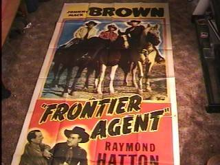 Frontier Agent 41x81 Movie Poster '48 Johnny Mack Brown