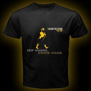 Johnnie Walker Black Red Blue Label Scotch Whisky Johnny Alcohol T Shirt s 3XL