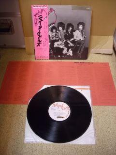 New York Dolls s T Japan 1st Press LP w OBI RJ 5103 Johnny Thunders
