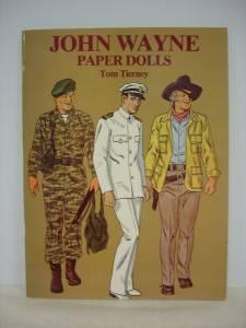 John Wayne Paper Dolls by Tom Tierney 1981 Paperback 0486239551