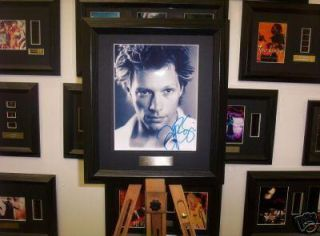 Jon Bon Jovi Framed Music Memorabilia Signed Autograph Signature pp