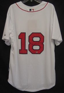 Johnny Damon Boston Red Sox Autographed Signed Jersey COA Proof