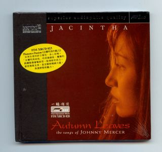 Jacintha Autumn Leaves The Songs of Johnny Mercer FIM JVC Japan XRCD XRCD2 CD