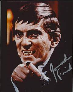 DARK SHADOWS JONATHAN FRID SIGNED PHOTO 8X10 RP AUTOGRAPHED