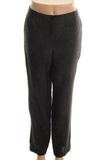 Jones New York NEW Black Linen Slim Fit Skinny Pants 8 BHFO
