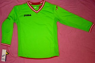Goalie Goalkeeper Shirt Uniform Jersey Soccer Padded Joma New Long Sleeve Yth SM