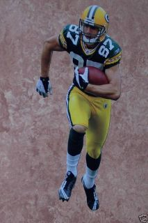 "Jordy Nelson Mini Fathead Green Bay Packers NFL 7"" Official Wall Graphic Decal"