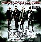 Los Inquietos Del Norte CD DVD New Vamos A Darle Con Todo Coleccion Corridos