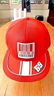 2010 Ducati Team issue Nicky Hayden Personal 69 Hip Pop Cap Personal Signed